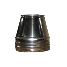 Конус дымоходный нерж/оц Иронвент D-4000 мм толщина 0,6 мм
