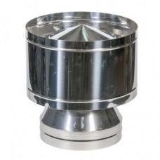 Вольпер одностенный нержавеющая сталь   Иронвент   D-100 мм      0,6 мм