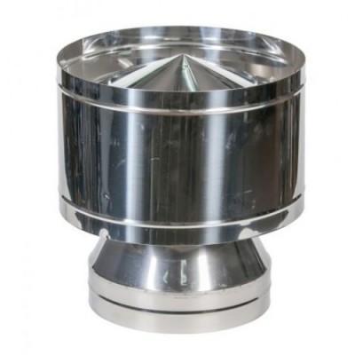 Вольпер одностенный оцинкованная сталь  Иронвент   D-100 мм    0,5 мм