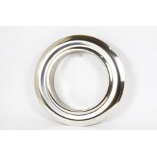 Розета одностенная нержавеющая сталь  Иронвент   D-300 мм  0,6 мм