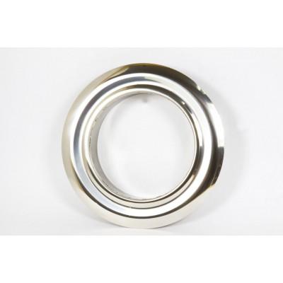 Розета одностенная нержавеющая сталь  Иронвент  D-200 мм   0,6 мм