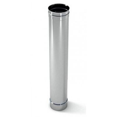 Труба дымоходная одностенная  нержавеющая сталь  L-1м, Иронвент D-200 мм   1 мм