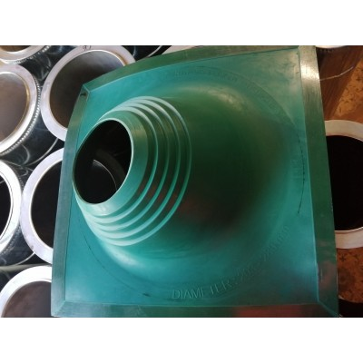 Крыза димоходная   Мастер Флеш Профи  №2 (EPDM)  203-280   зеленая