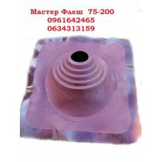 Крыза димоходная мастер флеш Профи  №1 (EPDM)  75-200  коричневая