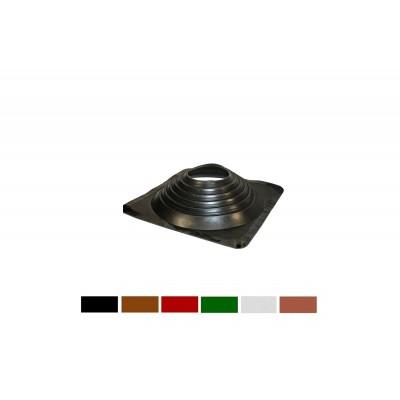 Проход кровельный Мастер Flash 304-457 мм ровный  силикон Коричневый ,Черный, Зеленый , Красный , Серый
