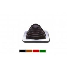 Мастер Flash 120-220  мм ровный  силикон Коричневый ,Черный, Зеленый , Красный , Серый Проход кровельный