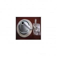 Мастер Flash 20-70  мм угловой силикон  Черный   Проход кровельный