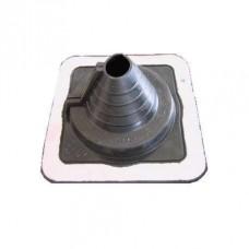 Мастер Flash 40-100 мм ровный  силикон  Черный   Проход кровельный
