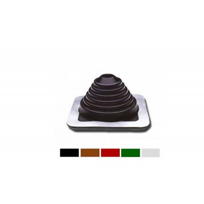 Мастер Flash 76  -152   мм ровный  силикон Коричневый ,Черный, Зеленый , Красный , Серый Проход кровельный