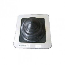 Мастер Flash 5 -55 мм ровный  силикон  Черный  Проход кровельный