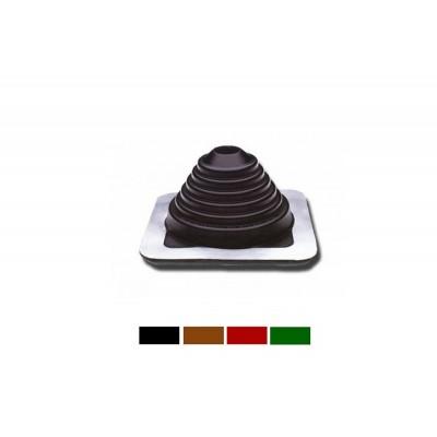 Мастер Flash 180-320 мм ровный  силикон Коричневый ,Черный, Зеленый , Красный , Серый Проход кровельный